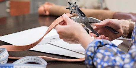 OKTOBERVEST: Workshop Leerbewerking - Nikki Giling in het Modekwartier tickets