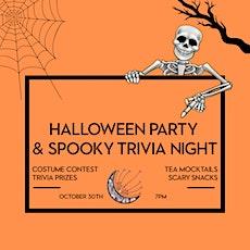 Dandelion's Halloween Party & Spooky Trivia Night! tickets