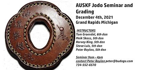 MWKF Jodo Seminar and Grading tickets