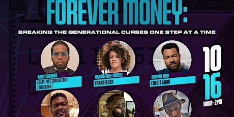 Forever Money: Breaking the Generational Curses one step at a time tickets