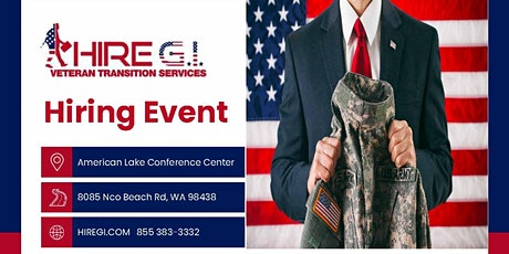 Joint Base Lewis McChord Hiring Event - March 2022 tickets