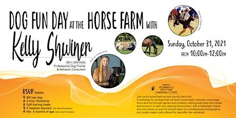 Dog Fun Day at the Horse Farm! Play 'n Train Workshop tickets