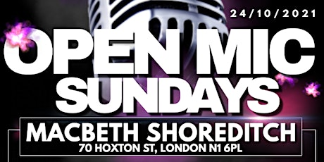 OPEN MIC SUNDAY'S: ZESS EVENTS tickets