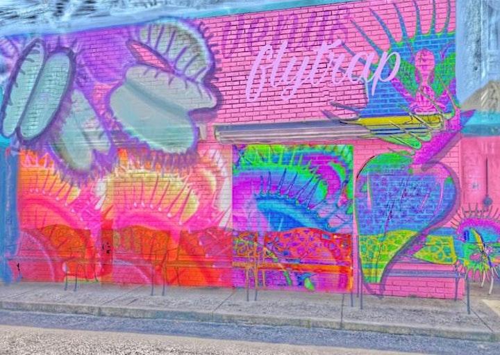 """Indigenous Fly Feaster"" Mural #7 Artist Meet & Greet Dinner image"