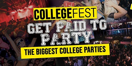 CollegeFest 2021 – Sign-Up For Guestlist – Club Reps Wanted tickets