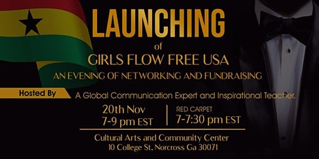 Launching of Girls Flow Free USA tickets