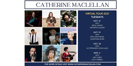 Catherine MacLellan Virtual Tour with Liz Stringer and Colin Lillie tickets