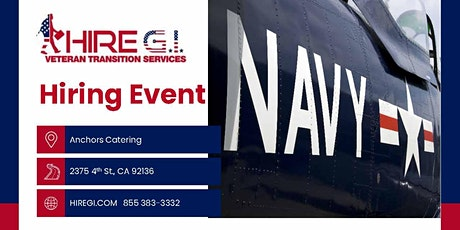 Naval Base San Diego Hiring Event - July 2022 tickets