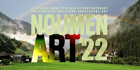 X NOUMEN ART Fest of the Contemporary Experimental and Ethno-Avantgarde Art biglietti