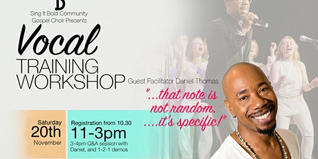 Sing It Bold Choir Vocal Training Day tickets