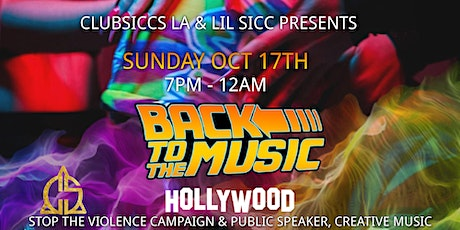 Back to the Music Hollywood - Showcase & Industry Mixer tickets