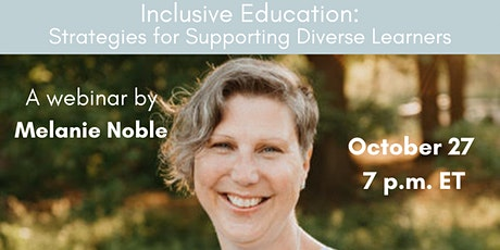 Inclusive Education: Strategies for Supporting Diverse Learners tickets