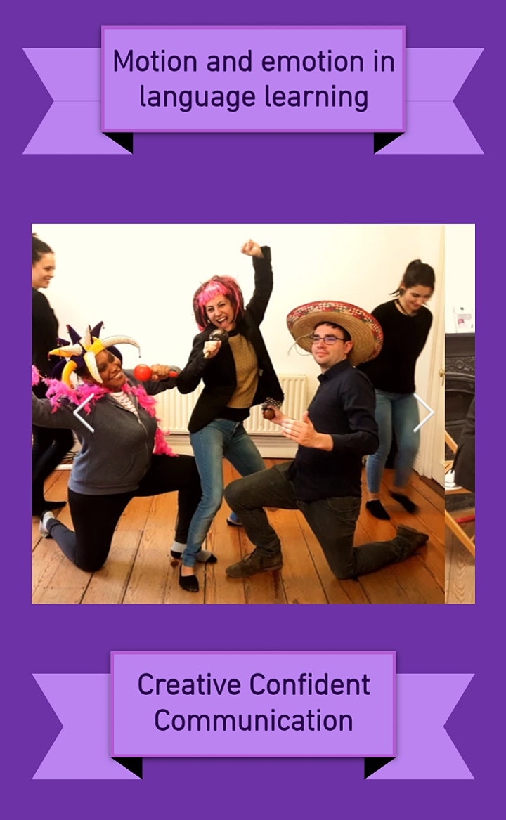FREE Drama for Language Teachers workshop image