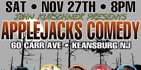 Applejacks Comedy tickets