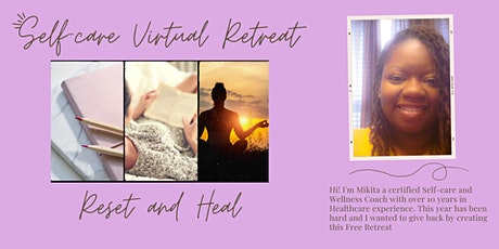 Reset and Heal Retreat tickets