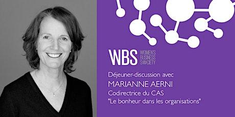 WBS Genève - Déjeuner avec Marianne Aerni tickets