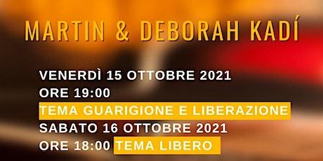 Martin & Deborah Kadí tickets