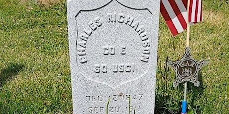 Woodland Cemetery Civil War Tour tickets