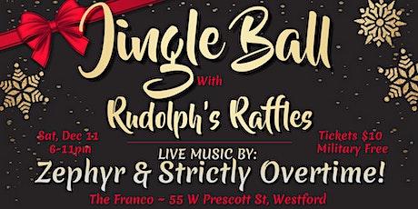 Jingle Ball ~ Rudolph's Raffles ~ Military Appreciation tickets