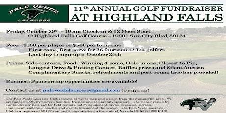 Palo Verde Lacrosse 11th Annual Golf Tournament Fundraiser tickets