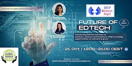 Future of EdTech XI - Online Pitch Night tickets