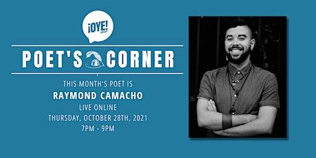 October Poet's Corner tickets
