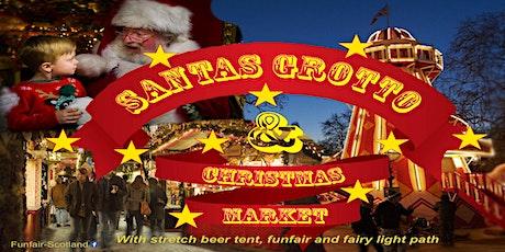 Santa Grotto and Christmas market tickets