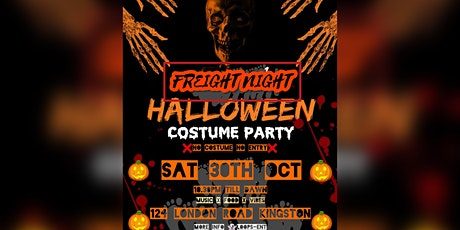 Freight Night, Halloween Costume Party tickets