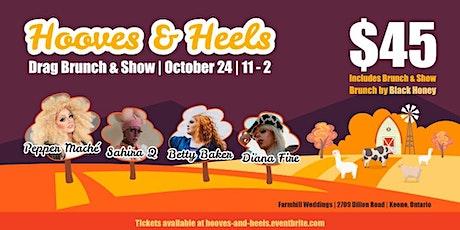 Heels and Hooves Drag Brunch at Farmhill tickets