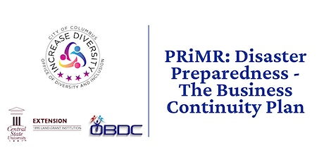 PRiMR: The Three R's of Disaster Preparedness for Businesses tickets