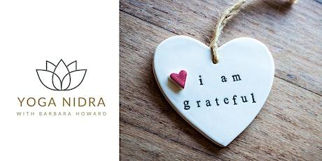Yoga Nidra for Gratitude Workshop Tickets