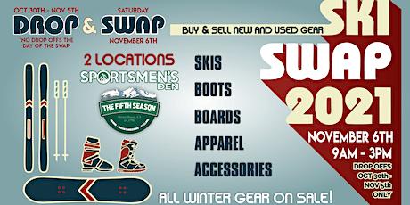 Mount Shasta Ski & Snowboard SWAP tickets
