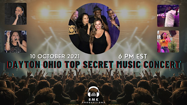 RMK Productions Music Series featuring Top Secret (Live Music Concert) image