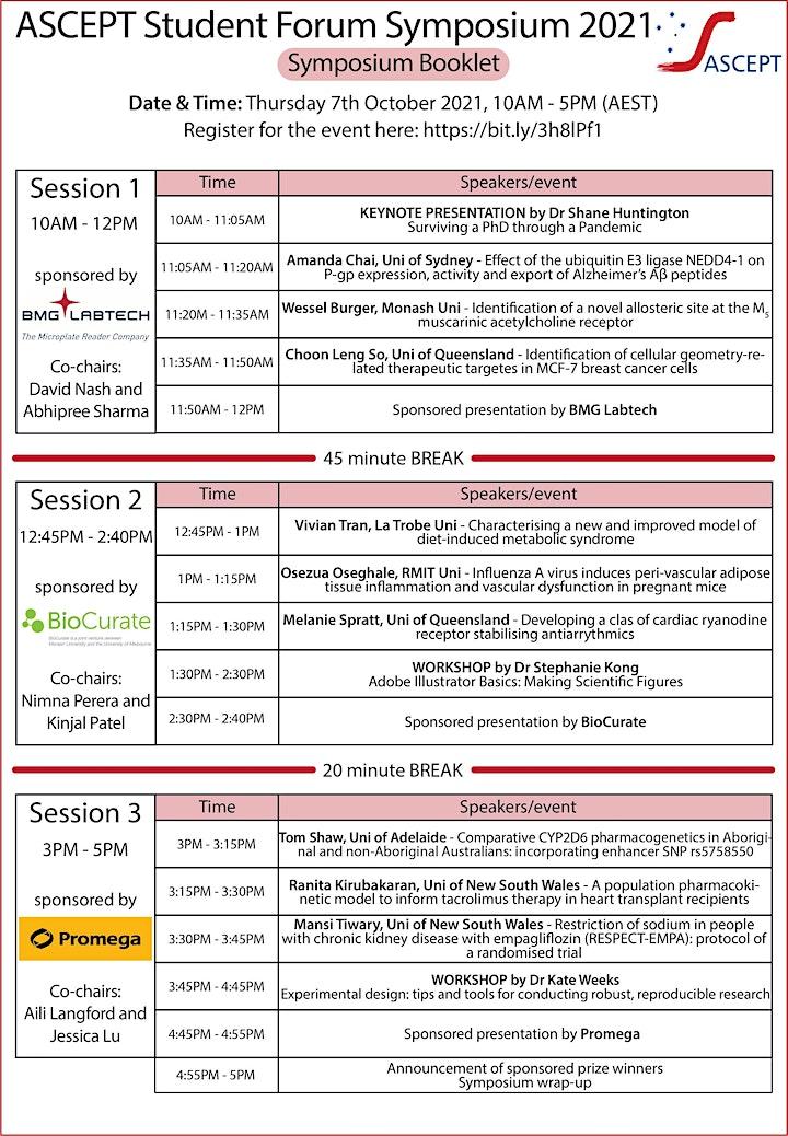 ASCEPT Student Forum Symposium 2021 image