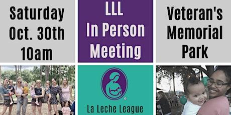 LLL Breastfeeding October In Person Meeting tickets