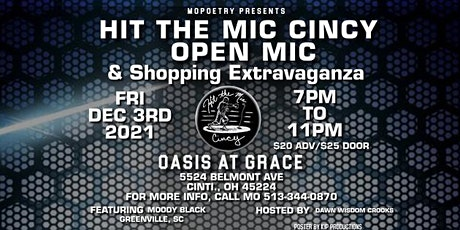 Hit the Mic Cincy's Open Mic & Shopping Extravaganza tickets