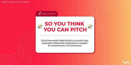 So You Think You Can Pitch tickets