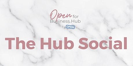 The Hub Social: Paint, Sip & Shop tickets
