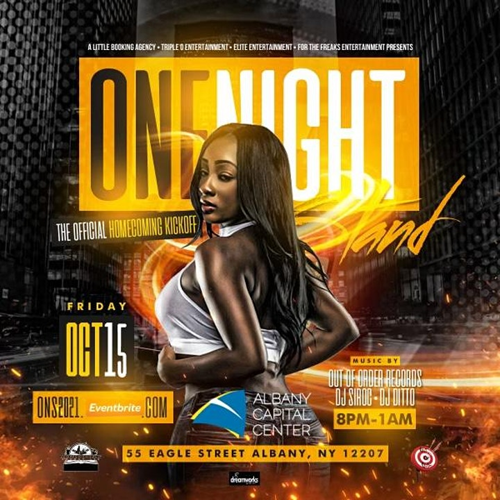 One Night Stand: Official Homecoming Kickoff Party! image