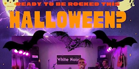 Miramichi Kinsmen Rocking Halloween with White Noise billets