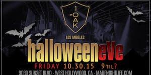 1OAK LA Halloween 2015