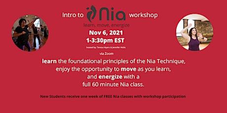 Introduction to the Nia Technique tickets