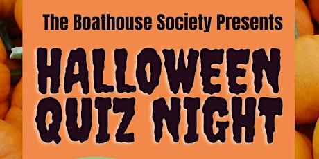 Halloween Quiz @ The Boathouse tickets