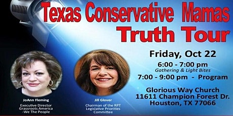 Texas Conservative Mamas Truth Tour tickets
