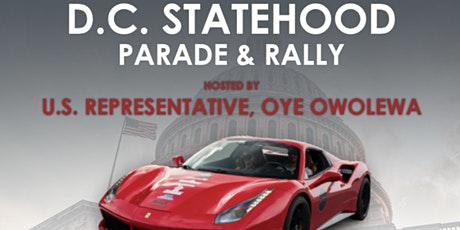 Supercar Rally 4 DC Statehood tickets