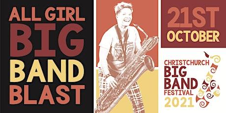 All Girl Big Band at 12 Bar 8.40pm seating tickets