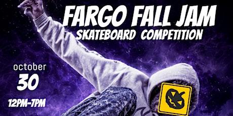 FARGO FALL JAM SKATEBOARD COMPETITION tickets
