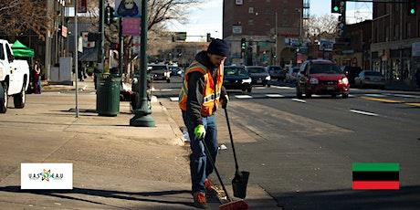 Neighborhood Cleanup - Utica Ave tickets