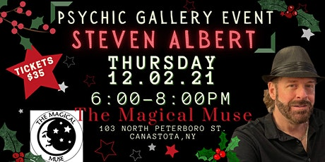 Steve Albert: Psychic Gallery Event -Magical Muse tickets