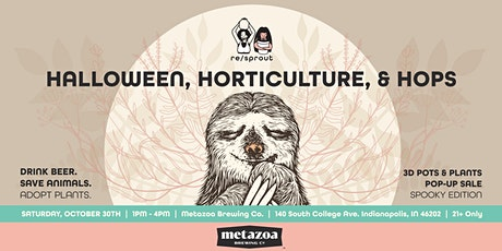 Re/Sprout POP UP - Halloween, Horticulture & Hops tickets